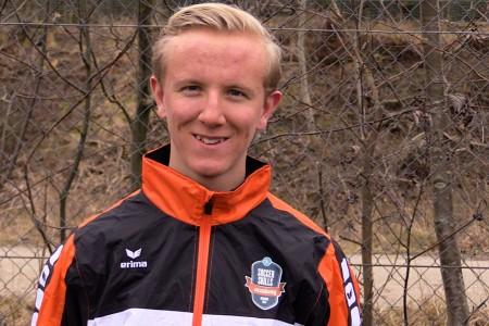 Målmandstræner Frederik Ingerslev, ansvarlig for målmandstræning i Soccer Skills Academy Denmark samt lyngby boldklubs ungdoms afdeling